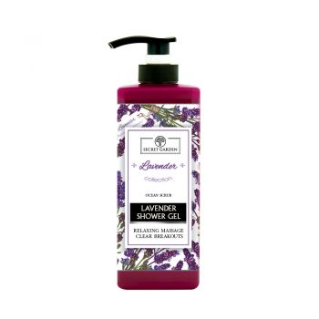 SECRET GARDEN – LAVENDER SHOWER GEL